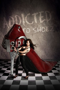 addicted to shoez by Tina Borggraefe-Eichler