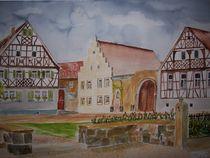 Dorfplatz Heustreu by Achim Gütling