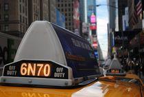 Mit dem Taxi durch New York von lingiarts