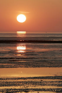 Sonnenuntergang am Meer von Norbert Fenske