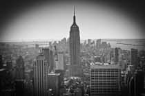 New York City Skyline by Ian C Whitworth