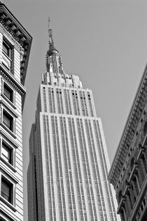 Empire State Building B&W by Ian C Whitworth