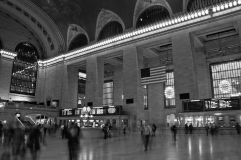 New-york-grand-central-station-b-w