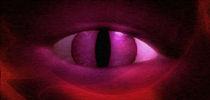 Auge (rot) von mokine
