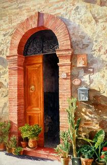 A Doorway in Tuscany, no2 von Bob Nolin