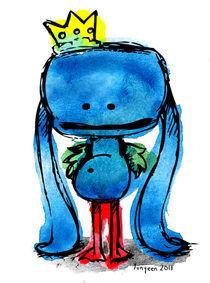 Prince Blue Weirdo (1) by Yunyeen Yong