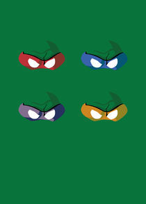 Ninja Turtles  by Ben Greenock