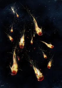Rubies on Fire by Jonatan Xavier
