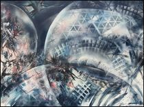 """Cosmic wheels"" von Bernd D. Kugler"