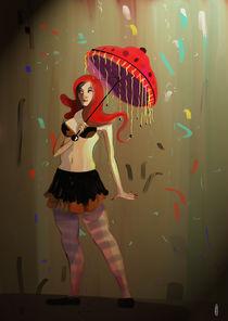 Red Umbrella by Guilherme Araújo (aka Guima)