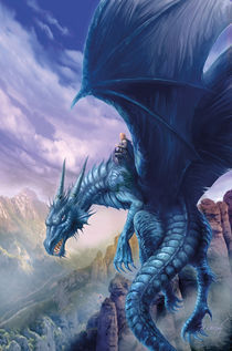 Blue Dragon von Jan Patrik Krasny