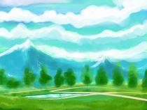 Blue Mountains von raziel