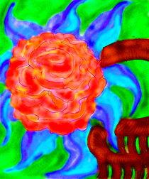 BlumemitblauenBlaettern von reniertpuah
