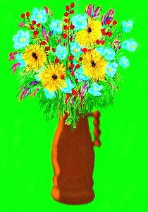 BlumenimbraunenKrug by reniertpuah