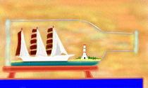 Das Buddelschiff by reniertpuah