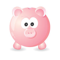 Piggy bank by Jasmina Stanojevic