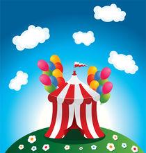 Circus tent von Jasmina Stanojevic