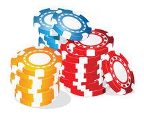 Poker chips by Jasmina Stanojevic