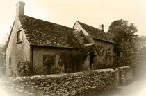 Cotswold Cottage by Len Bage