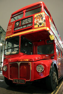 Traditional London Bus von Sónia Lamêra