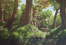 Innere Natur/ Hünengrab von Ute Hegel