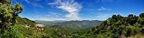 Algatocin Panorama by Len Bage