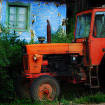 old tractor von Andreea Gorongyi