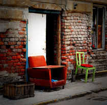 old chairs by Andreea Gorongyi