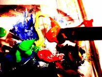 Farbkleckse by Melanie Codea