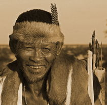 bushman warrior namibia von james smit