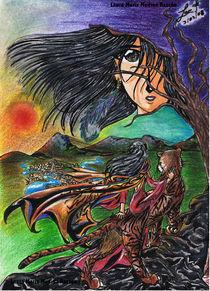 Azteca Warrior von Laura Medina Rascón