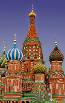 Moscow Saint Basil's Cathedral by gnubier