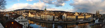 Zurich Panorama by Len Bage
