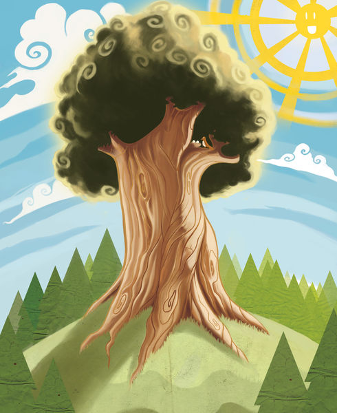 Trees-artflakes