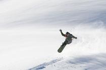 Snowboarder von Evgeny Vasenev