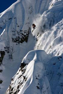Skier  von Evgeny Vasenev