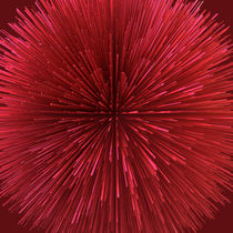 Spiny Red Ball by Philip Roberts