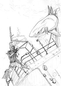 Hey Mr. Shark by patator