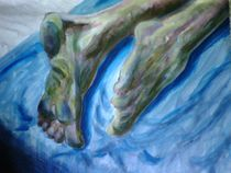 Dirty Feet von Green Moon Art