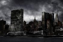 Destroyed City  by Kuba Skorkowski