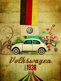 Volkswagen retro 1938 von Mauricio Gomez
