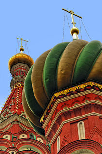 Moscow, Saint Basil's Cathedral, Detail by gnubier
