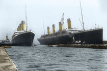 Titanic & Olympic in Color von Thomas Schmid