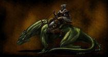 Sauron warrior von Fernando Rodriguez