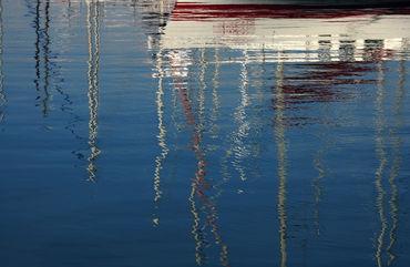 Hafenspiegelung