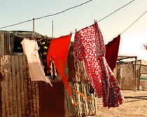 colorful washing line by james smit