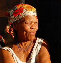 old woman africa von james smit
