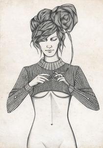 Sweater von Anastasia Dachko