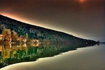 Reflection mountain....::[HDR] by Tania Koleska