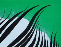 cutout of zebra crossing by Katja Finke
